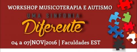 Workshop Musicoterapia e Autismo - Uma Sinfonia Diferente