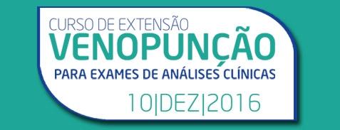 Curso de Venopunção para exames de análises clínicas.