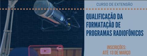 Curso de qualificação de programas radiofônicos