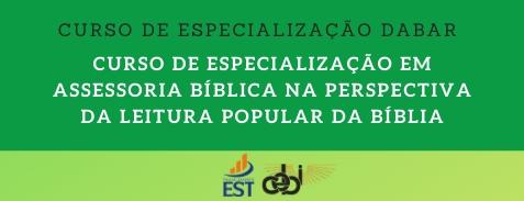 Curso de Especialização em Assessoria Bíblica na Perspectiva da Leitura Popular da Bíblia