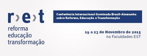 Conferência Internacional Geminada Brasil - Alemanha sobre Reforma, Educação e Transformação