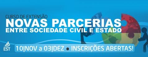 Novas parcerias entre Sociedade Civil e Estado (Lf 13.019/2014)