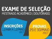 Processo Seletivo - PPG 2017/02