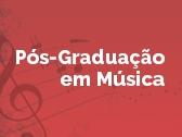 Pós-Graduação em Música