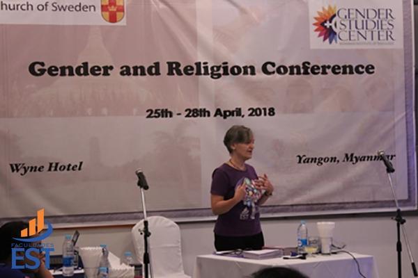 Programa de Gênero e Religião representado em diferentes eventos