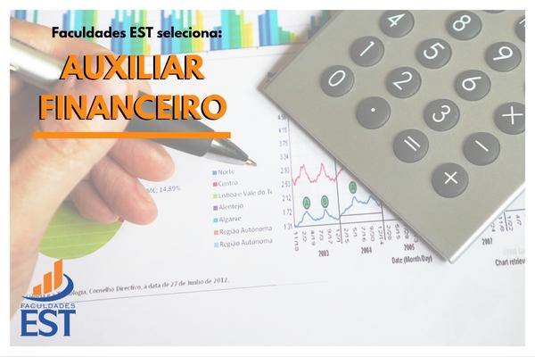 Processo seletivo Auxiliar Financeiro