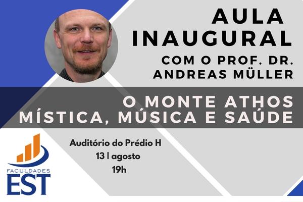 Aula Inaugural Graduações 2018/02