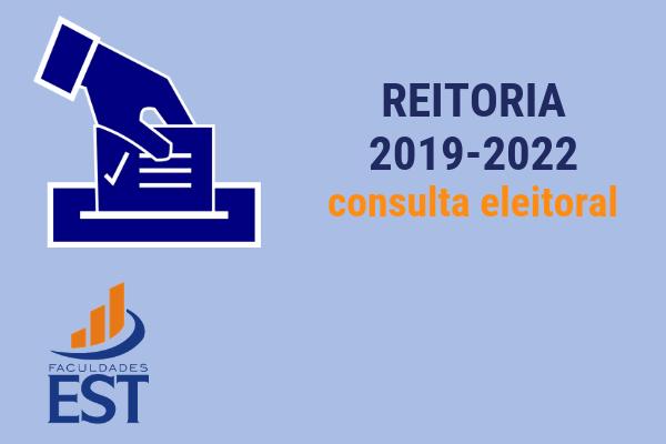 CONSULTA ELEITORAL Reitoria 2019-2022