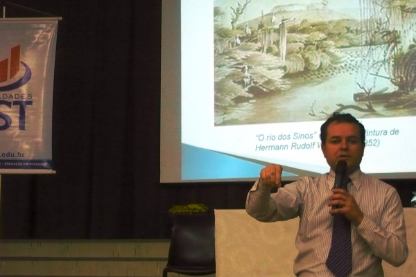 Ação humana compromete a sustentabilidade do Rio dos Sinos