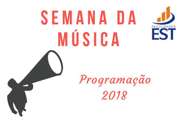 SEMANA DA MÚSICA 2018