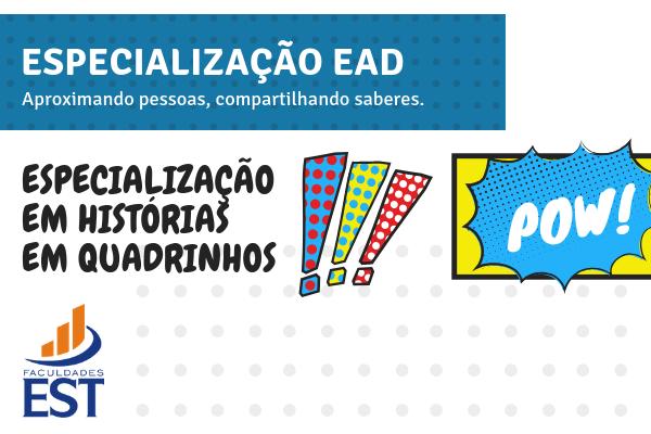 Especialização em Histórias em Quadrinhos - curso inédito!!
