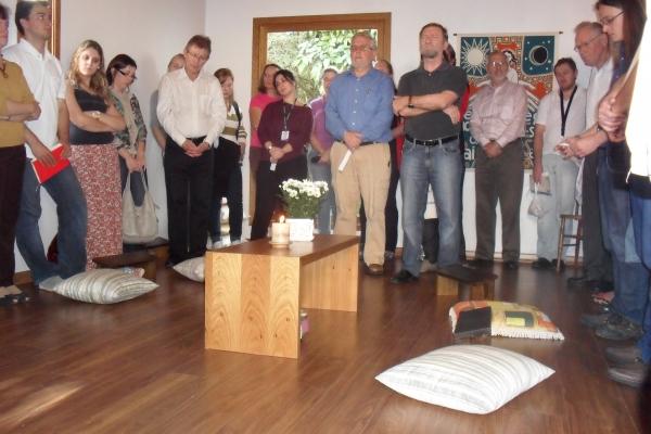 EST inaugura espaço de oração e refúgio no campus