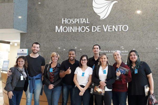 Hospital Moinhos de Vento conta com estagiários de musicoterapia da Faculdades EST