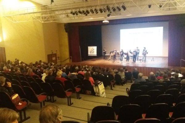 Grupo Anima se apresenta em Santa Cruz do Sul