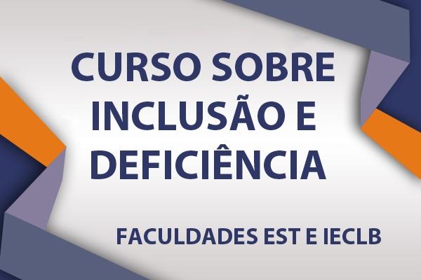 EST e IECLB promovem curso sobre inclusão e deficiência