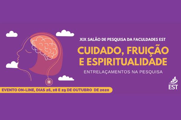 XIX Salão de Pesquisa da Faculdades EST será on-line