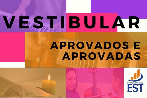 Vestibular 2021/1 - Lista de aprovados e aprovadas