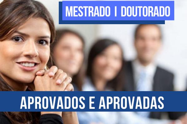 PPG Acadêmico - Aprovados e Aprovadas