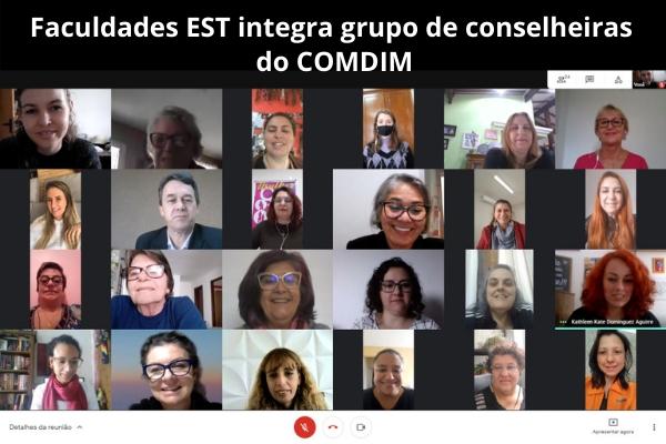 Faculdades EST integra grupo de conselheiras do COMDIM