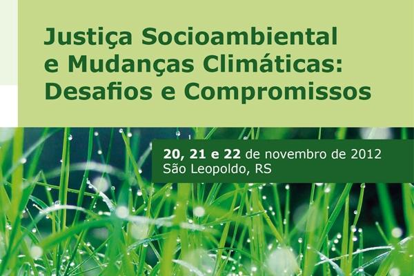 EST acolhe seminário sobre Justiça Socioambiental e Mudanças Climáticas