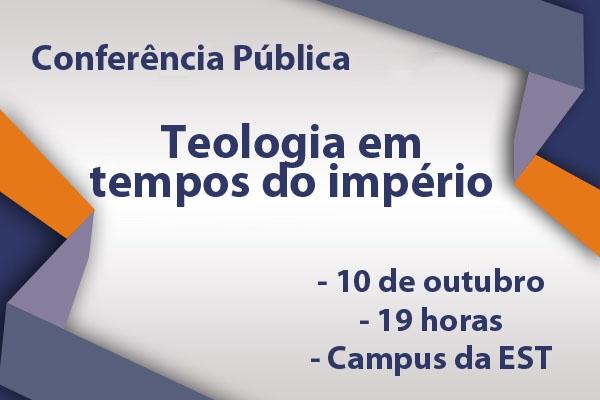 EST promove conferência pública sobre o fazer teológico no século 21