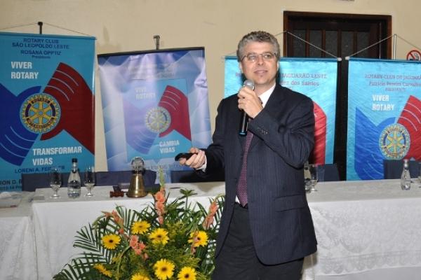 Instituto Sustentabilidade apresenta ao Rotary Internacional sua visão de atitudes transformadoras