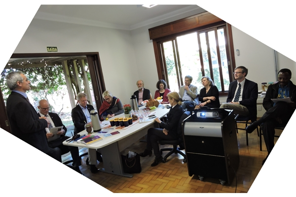 Visita da delegação do Conselho Diretor da Igreja Evangélica da Alemanha