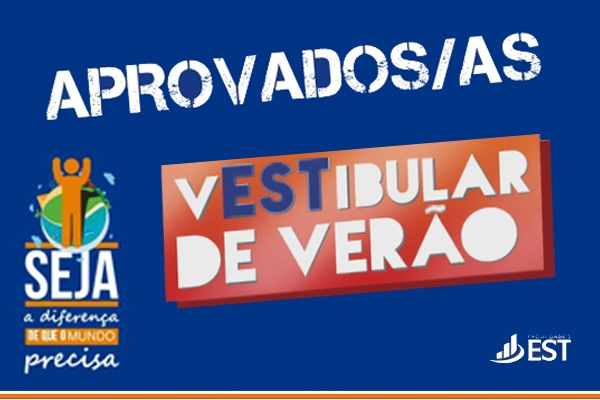 Vestibular 2016 - Lista de aprovados