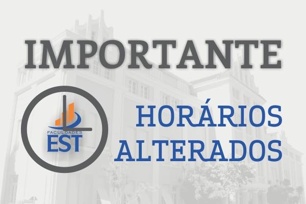 FIQUE ATENTO AO HORÁRIO DE FUNCIONAMENTO