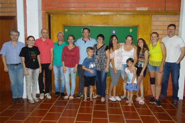 Docentes da Faculdades EST no Sínodo Uruguai
