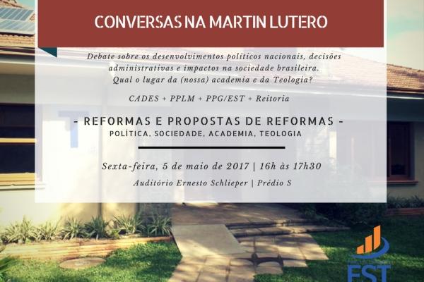 Conversas na Martin Lutero