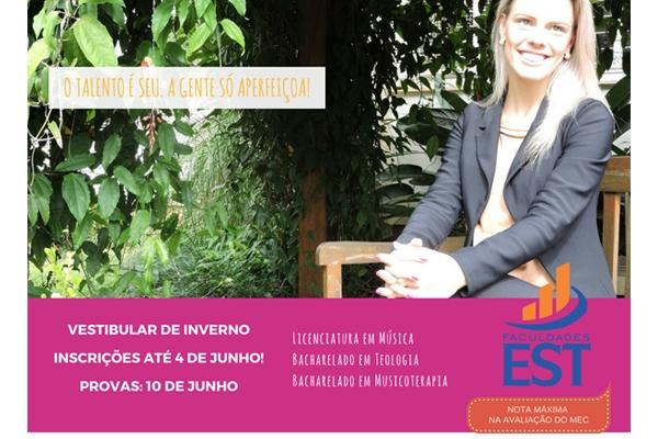Vestibular Faculdades EST 2017/2