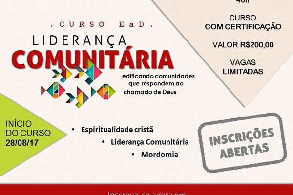 Curso de Liderança Comunitária EaD