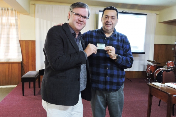 Professor Dr. Rudolf Von Sinner recebe título de Pastor Emérito