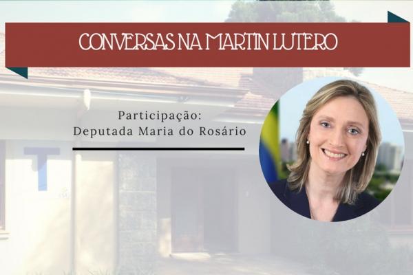CONVERSAS NA MARTIN LUTERO: DEBATE SOBRE DIREITOS HUMANOS NO BRASIL