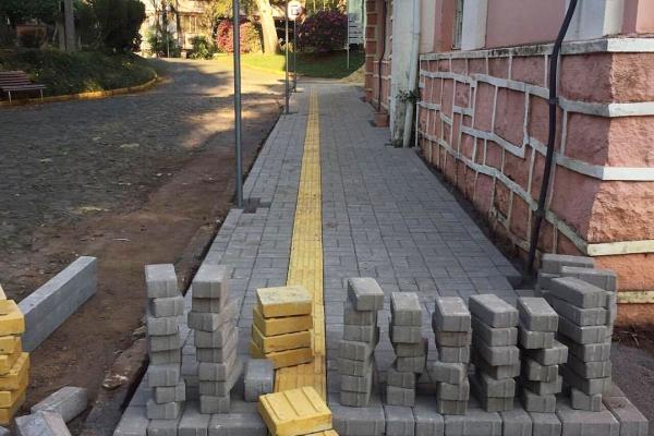 Obras de Acessibilidade na Faculdades EST