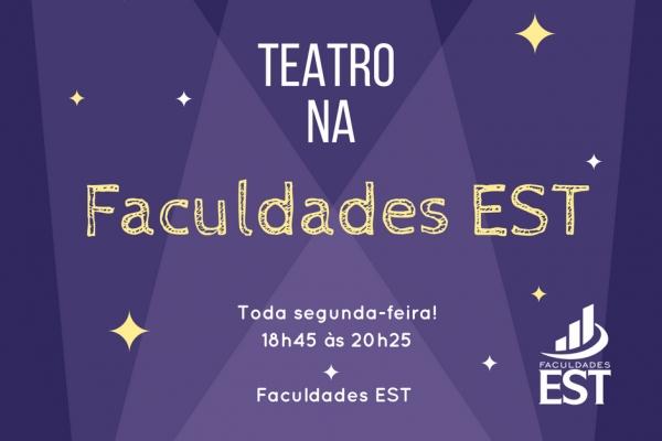 Projeto de estudos em Teatro acontece na Faculdades EST