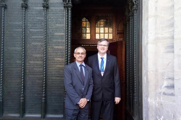 Reitor e Pró-Reitor da EST participam de Congresso em Wittenberg