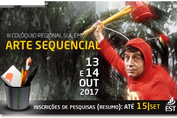 III Colóquio Regional Sul em Arte Sequencial será nos dias 13 e 14 de outubro