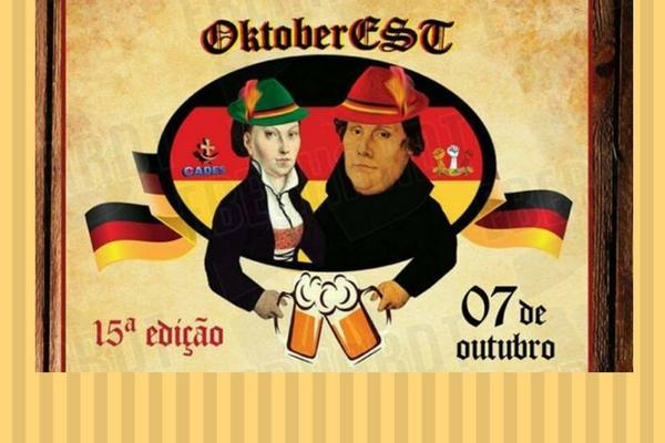 OctoberEST acontece no próximo sábado, dia 7