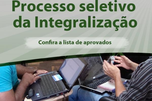 Divulgada a lista de aprovados no Programa de Integralização (nova chamada)
