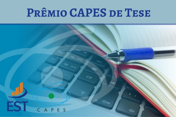 Egresso do PPG-EST recebe menção honrosa do Prêmio Capes de Tese