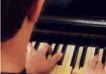 Pianista Gabriel Schuck - portador de deficiência visual